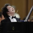 Seong-Jin Cho of Korea plays piano during the third round of the XIV International Tchaikovsky Competition in Moscow, Monday, June 27, 2011. (AP Photo/Alexander Zemlianichenko)